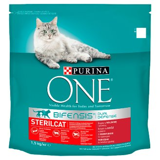 Purina ONE Sterilcat Rich in Beef and Wheat 1.5kg