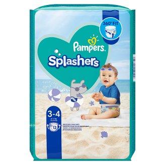 Pampers Splashers Vel. 3-4, 12 Plenkových Kalhotek Do Vody