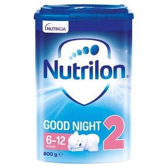 Nutrilon 2 Pronutra Good Night pokračovací mléko na dobrou noc od uk. 6. měsíce 800g
