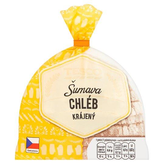 Tesco Šumava Wheat Rye Sliced Bread 250g