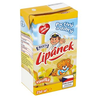 Madeta Lipánek Durable Milk Vanilla 250ml