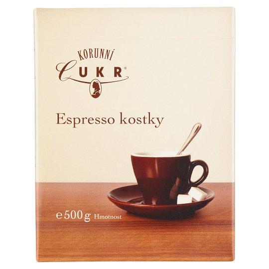 Korunní Cukr Espresso Sugar Cubes 500g