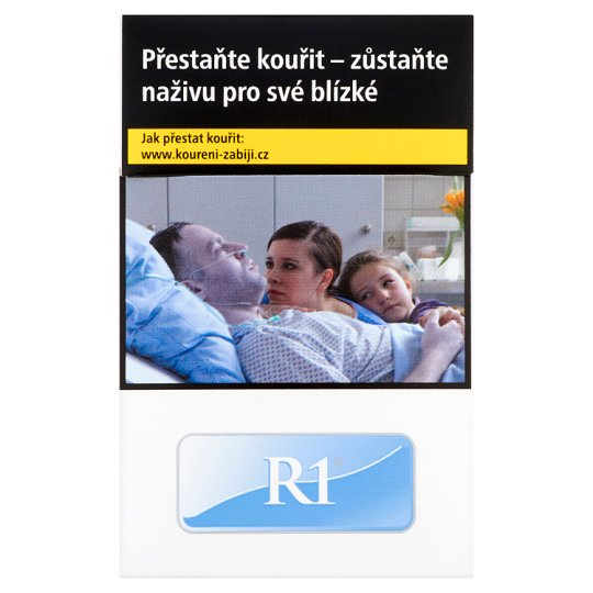 R1 cigarety s filtrem 20 ks