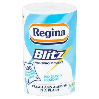 Regina Blitz Household Towel 3 Ply 1 Roll