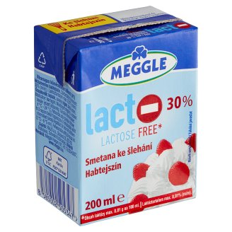 Meggle Lactose Free Whipping Cream 200ml