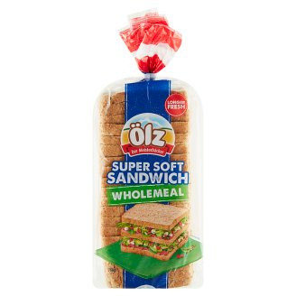 Ölz Wholemeal Soft Sandwich Bread 750g