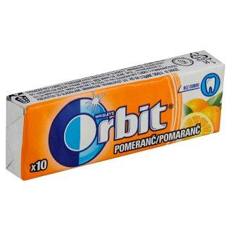 Wrigley's Orbit Pomeranč žvýkačka bez cukru s pomerančovou příchutí 14g