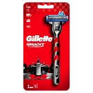 Gillette Mach3 Turbo Razor For Men + 1 Blade Refill