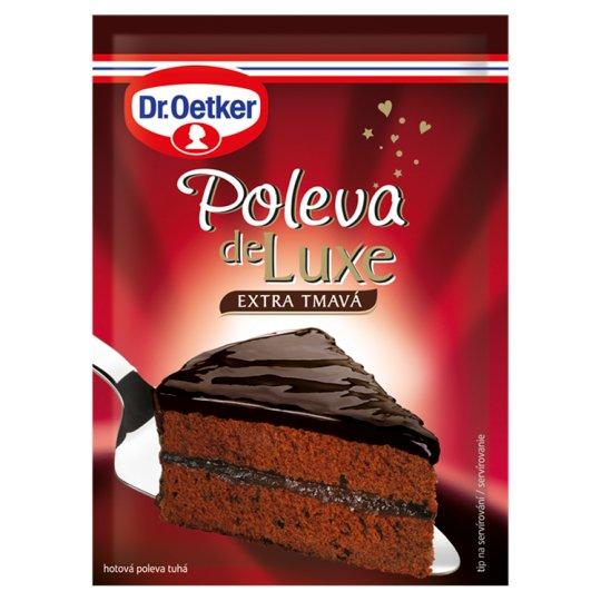 Dr. Oetker Poleva de Luxe extra tmavá 100g