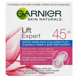Garnier Skin Naturals Lift Expert 45+ noční krém pro vyhlazení pleti 50ml