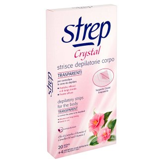 Strep Crystal Depilatory Strips for the Body 20 pcs