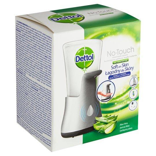 Dettol Soft on Skin bezdotykový dávkovač mýdla + tekuté mýdlo náplň 250ml