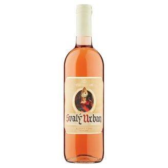 Víno Mikulov Svatý Urban růžové víno polosladké 0,75l