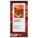 Tesco Finest Hovězí burgery 4 ks 454g