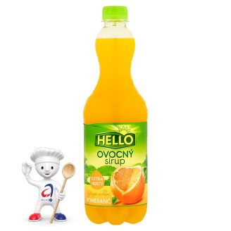 Hello Orange Fruit Syrup 0.7L