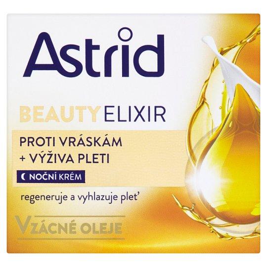 Astrid Beauty Elixir Vyživující noční krém proti vráskám 50ml