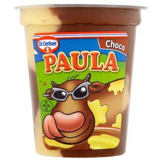 Dr. Oetker Paula Milk Dessert with Chocolate-Vanilla Flavor 125g