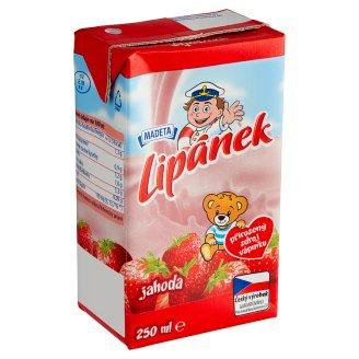 Madeta Lipánek Durable Milk Strawberry 250ml