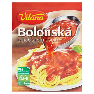 Vitana Bolognese Sauce with Meat 75g