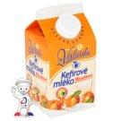 Mlékárna Valašské Meziříčí Apricot Low-Fat Fermented Milk Drink 450g