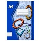 Papírny Brno 420e Workbook A4 20 Clear Pages