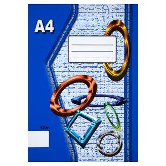 Papírny Brno 420e školní sešit A4 nelinkovaný 20 listů