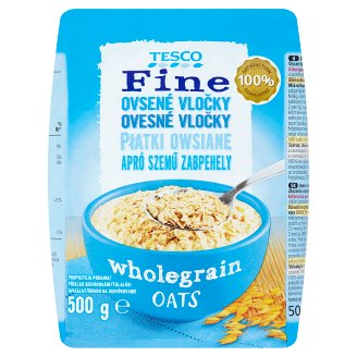 Tesco Fine Oatmeal Finely Crushed 500g