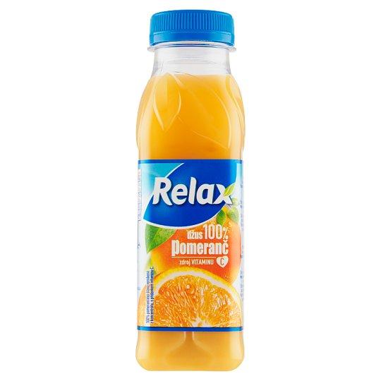 Relax 100% pomeranč 300ml