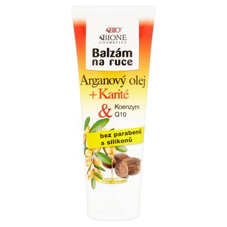 Bione Cosmetics Bio Arganový olej + Karité balzám na ruce 205ml