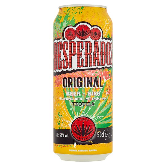 Desperados Beer Special Light with Tequila Flavour 500ml