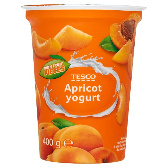 Tesco Apricot Yogurt 400g