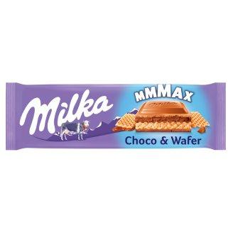 Milka Oplatka s lískooříškovou náplní a karamelizovanými kousky jader lískových ořechů 300g