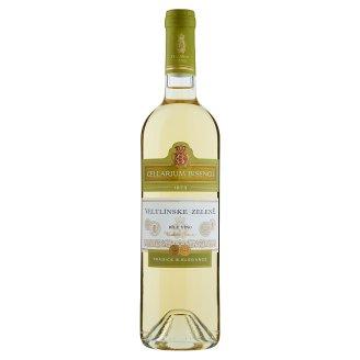 Zámecké Vinařství Bzenec Cellarium Bisencii Veltlínské zelené bílé víno suché 0,75l