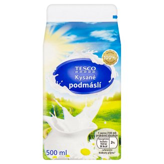 Tesco Sour Buttermilk 500ml