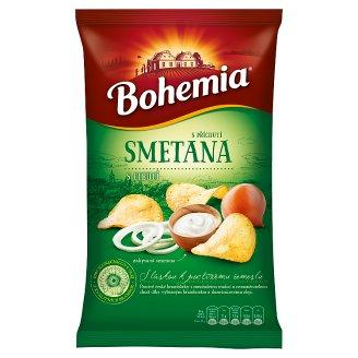 Bohemia Chips s příchutí smetany a cibule 150g