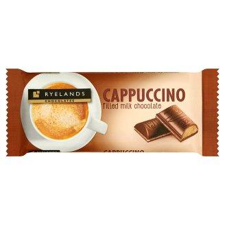 Ryelands Chocolates Mléčná čokoláda s náplní s příchutí cappuccino 100g