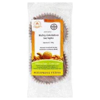 Jizerské Pekárny Mufiny čokoládové bez lepku 120g