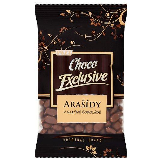 Poex Choco Exclusive Arašídy v mléčné čokoládě250g