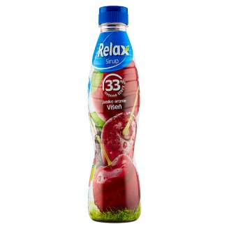 Relax Syrup Apple Chokeberry Cherry 700ml