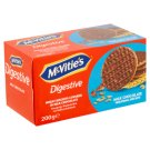 McVitie's Digestive Crispy Wheat Crackers Dipped in Milk Chocolate 200g