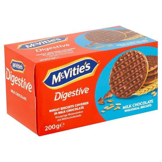 McVitie's Digestive s mléčnou čokoládou 200g