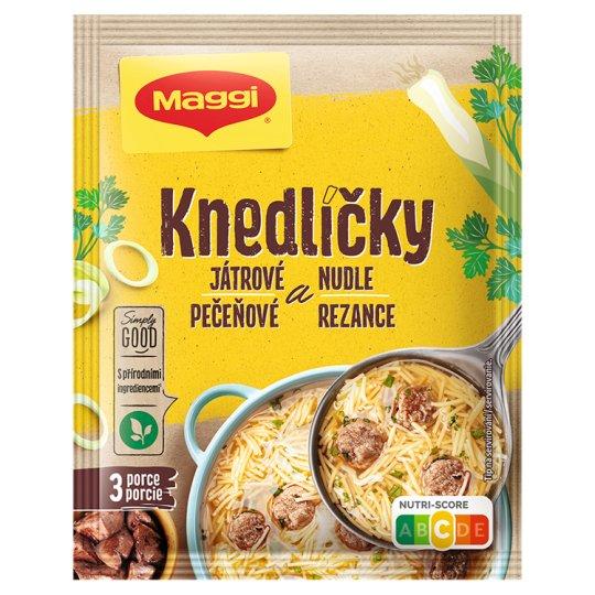 MAGGI Soup Knedlíčky and Noodle 55g
