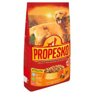 Propesko S drůbežím, hovězím a zeleninou kompletní krmivo pro dospělé psy 10kg