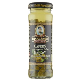 Kaiser Franz Josef Exclusive Capers in salt sour pickle 100g