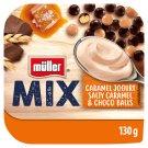 Müller Mix Choco Balls Salted Caramel Balls Caramel Taste Yoghurt 130g