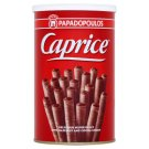 Papadopoulos Caprice Delicious Wafer Rolls with Hazelnut and Cocoa Cream 250g