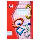 Papírny Brno 424e Workbook A4 20 Lined Pages