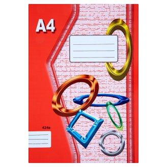 Papírny Brno 424e školní sešit A4 linkovaný 20 listů