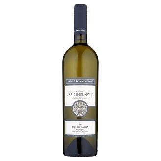 Mikrosvín Mikulov Ryzlink vlašský pozdní sběr odrůdové víno s přívlastkem bílé suché 0,75l