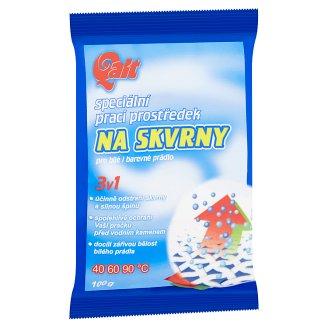Qalt 3v1 speciální prací prostředek na skvrny pro bílé i barevné prádlo 100g